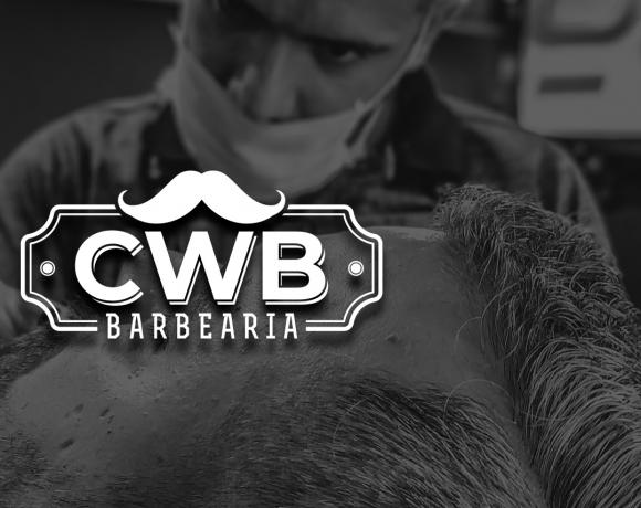 Criação de Logotipo CWB Barbearia