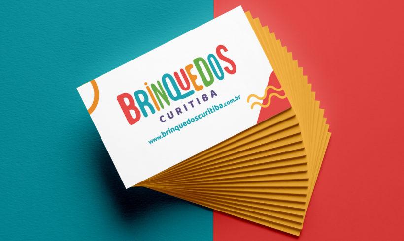 Criação de Logotipo Brinquedos Curitiba