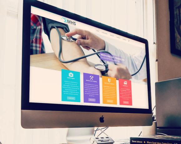 Criação de Site MultiHouse Saúde