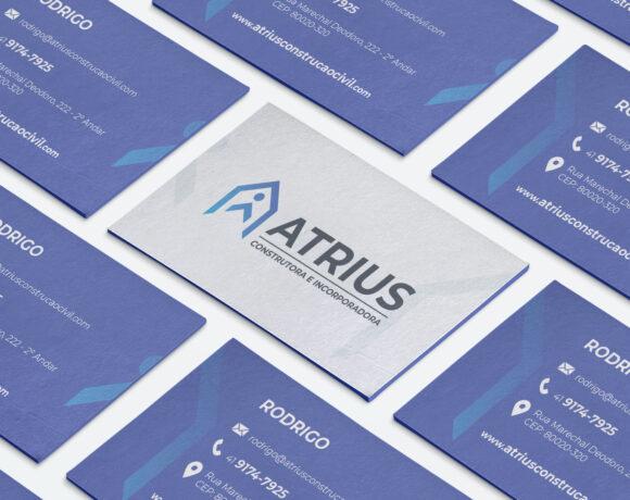 Criação de Logotipo – Atrius