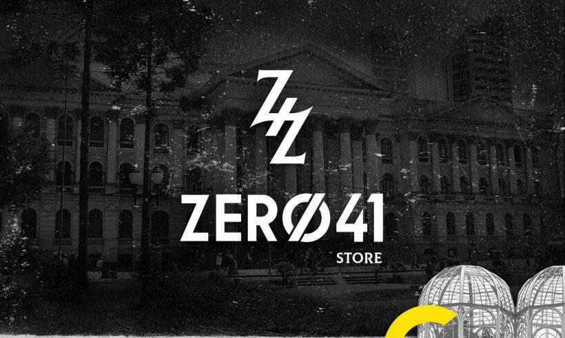 Criação de Logotipo Zero 41 Clothes